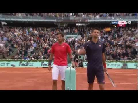 Novak Djokovic...Clay court masterclass (HD) Highlights 2012