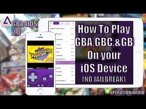 How To Get GBA4iOS 2.0 and ROMs (NO JAILBREAK) (NO COMPUTER)