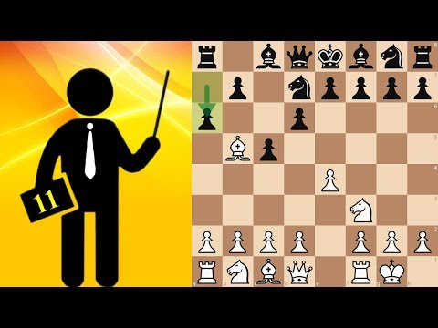 Sicilian Defence. Canal-Sokolsky Attack - Standard chess #11