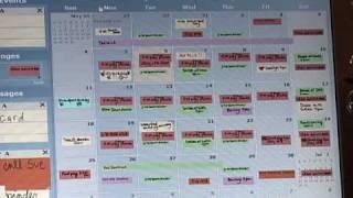 LINC, An Inkable Digital Family Calendar
