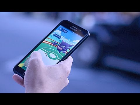 Actually Playing Pokemon GO In Public!!!