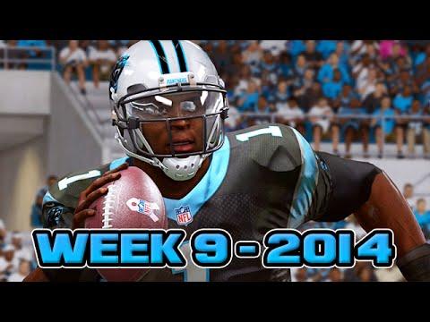 Madden 15 Panthers Connected Franchise - Week 9 vs Saints (Season 1)