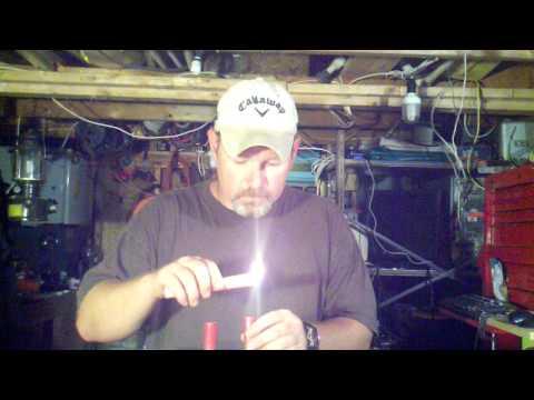 Reloading 12 gauge shotgun shells with homemade Black Powder and 209 primers