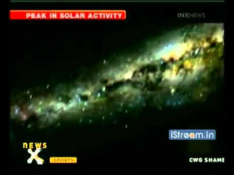 2013 Blackout on earth Solar Storm hit earth Geo-magnetic Storm...