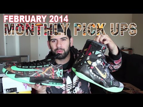 Monthly Pick Ups (Feb 2014) Nike Gumbo KD & KOBE 9, Air Jordan 6, PRELUDE 8 and more