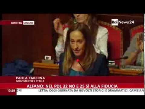 10 minuti che passeranno alla Storia in cui  Paola Taverna ha distrutto Letta e i partiti italiani