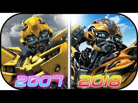 EVOLUTION of BumbleBee in Transformer MOVIES (2007-2017) Bumblebee the movie history transformer