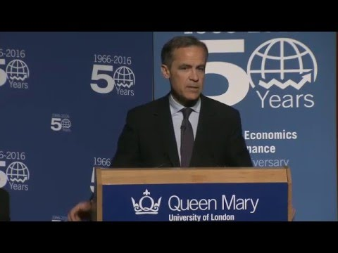 Mark Carney | 19 January 2016 | Lecture at Queen Mary University of London