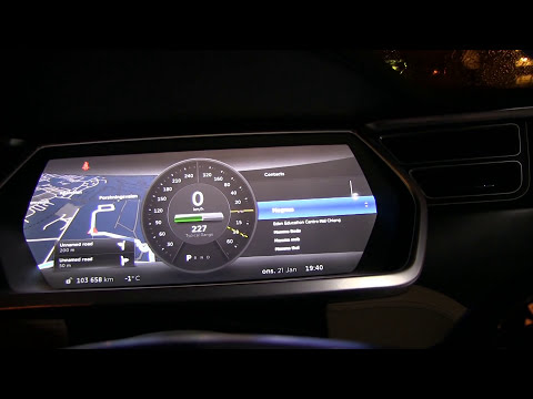 Tesla Model S software 6.1 review and demo