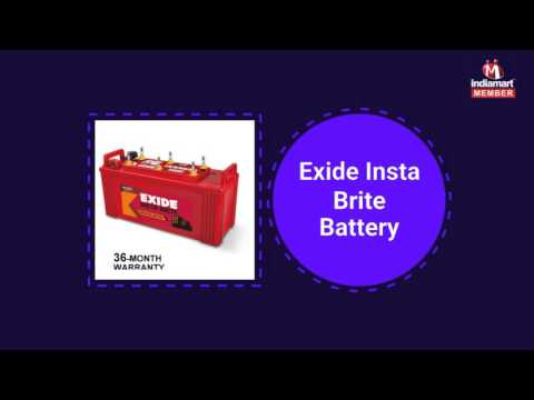 Four and Two Wheeler Battery by Shree Sai Battery Point, Coimbatore