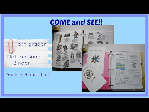 Student Notebooking Binder