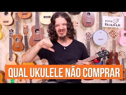 Qual ukulele não comprar