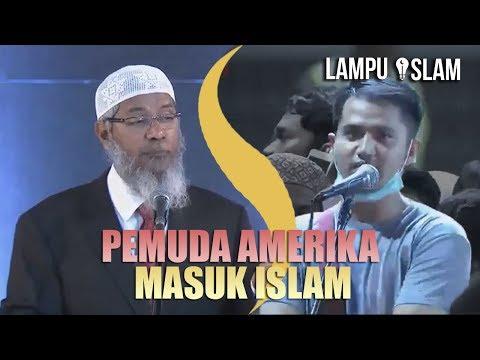 Pemuda INI DATANG JAUH DARI AMERIKA UNTUK MASUK ISLAM | Dr. Zakir Naik