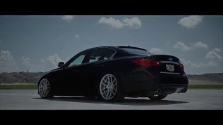 Infiniti Q50 on Velgen Wheels VMB6