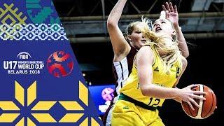 LIVE 🔴- Australia v Latvia - FIBA U17 Women's Basketball World Cup 2018