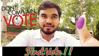 How to spend Election Day   My first vote   vlog 19