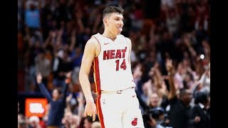 Tyler Herro Hits 5 3 Threes and Clutch Shot in OT vs. Bulls