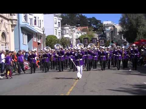 Archbishop Riordan High School Marching Band 2013 Italian Heritage Day Parade - 10/15/2013