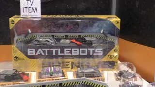 HexBug BattleBots, First Look Toy Fair 2016 At Battle Bots from Hex Bugs