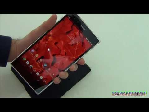 Sony Xperia Z Ultra illumiShield Screen & Back Protector Unboxing