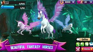 Horse Paradise (Unicorn Pegasus) Gameplay