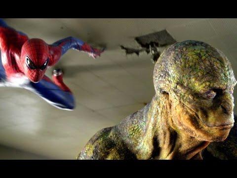 El Sorprendente Hombre Araña Vs El Lagarto En La Escuela Español Latino (HD) (3D)