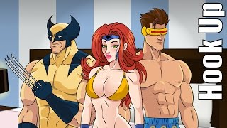 Cartoon Hook-Ups: Wolverine and Jean Grey