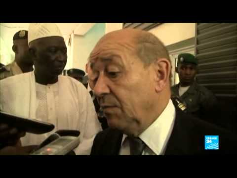 Jean-Yves Le Drian sur l'accord France-Mali :