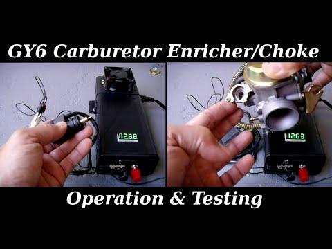GY6 Enricher / Automatic Choke Operation & Testing