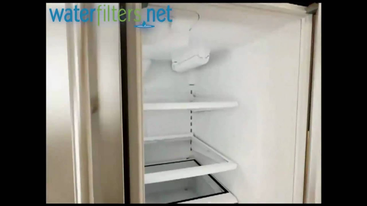 How To Install Maytag Ukf8001 Interior Fridge Filter