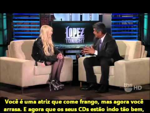 Entrevista da Taylor Momsen ao Programa Lopez Tonight [LEGENDADO]