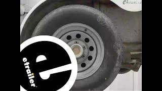 Dexter Nev-R-Adjust Electric Brake Assembly Installation - etrailer.com