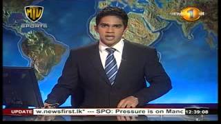 12 30PM Newsfirst Lunch time english 30 September 2014