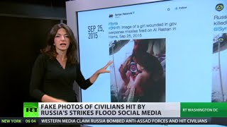 Information warfare: Russia accused of killing civilians in Syria