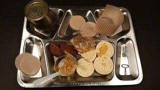 1955 RCI Food Ration Oldest Peanut Butter Ever Eaten MRE Review Post-Korean Meal Tasting C Rat