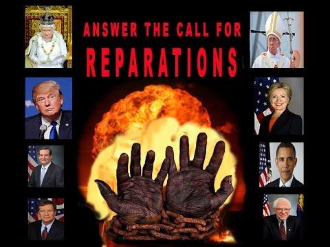 Osiris Speaks REPARATIONS NOW to Obama,
