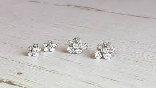 Little Diamond Earrings