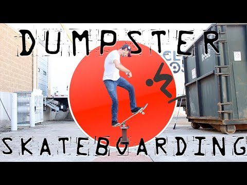 Season Finale Of Dumpster Diving Skateboarding!