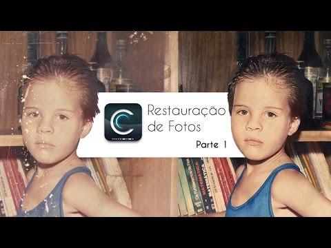 Restauração de fotos part. 01 | Photoshop - Creative Design