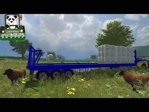 Farming Simulator 2013 Mod Review Heavy Duty Wool TrailerV3