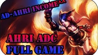 Full Community Gameplay Ahri ADC #37 | League of Legends