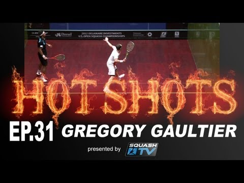 Squash : HotShots - Gregory Gaultier - EP.31