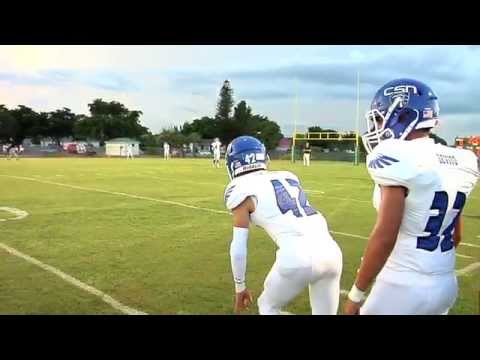 2014 Prep Football Preview: Community School of Naples - 08/23/2014