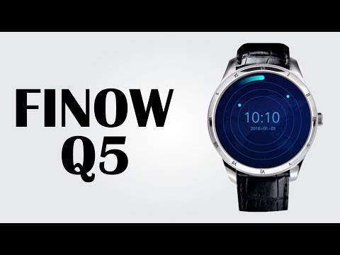 Finow Q5 Smartwatch - Android 5.1 / 1.39 inch / Heart Rate Monitor / 4GB ROM