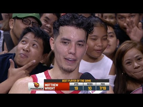 Best Player: Matthew Wright | PBA Commissioner's Cup 2018