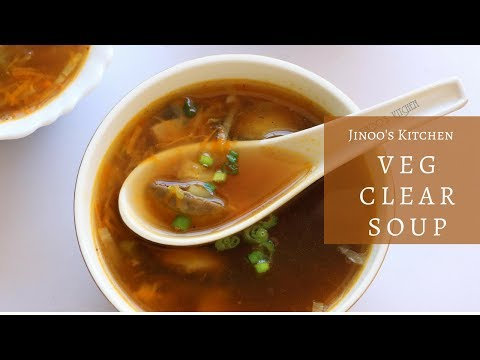 Veg clear soup recipe | clear soup recipe | clear vegetable soup recipe