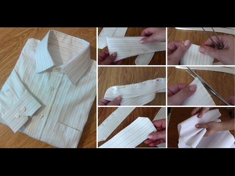 Как сшить двойной воротник на мужскую рубашку 30