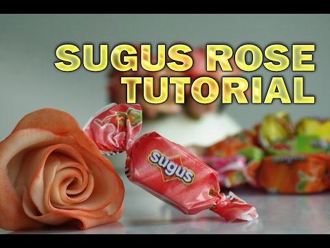 Sugus Rose Tutorial - SugarFlowers