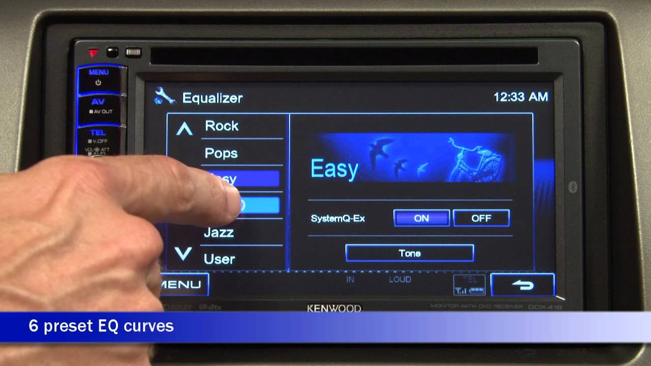 Kenwood Ddx418 Dvd Receiver Demo