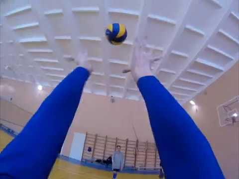 Волейбол от лица капитана / first person view of the captain (volleyball)